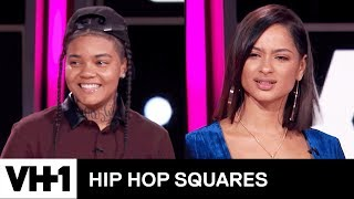 Young M.A. & Tori Brixx Make a Bet 'Sneak Peek' | Hip Hop Squares - VH1