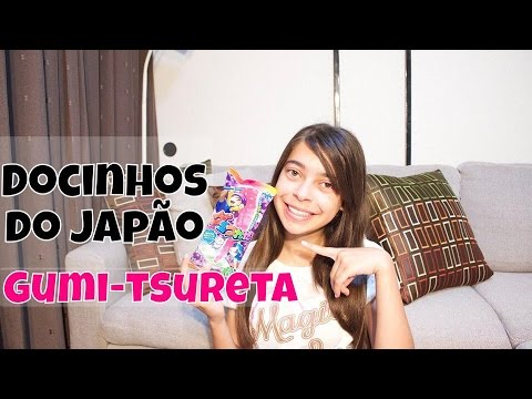 Docinhos do Japão :Gumi-tsureta  グミつれた