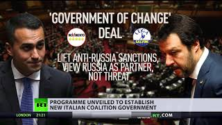 Proposed Italian coalition deal seeks to lift anti-Russia sanctions - RUSSIATODAY