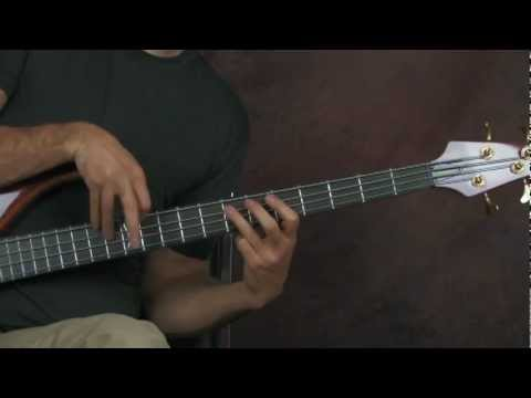 bass guitar lesson the trooper iron maiden