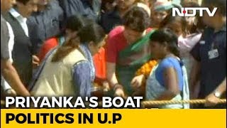 Priyanka Gandhi's Campaign On Ganga Today, Destination PM Modi's Varanasi - NDTV