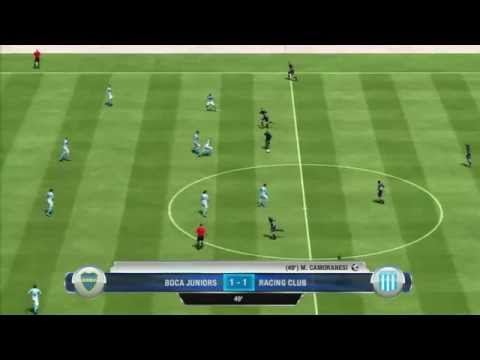 FIFA 13 Gameplay Boca Jrs. Vs Racing Club - Fifaallstars.com