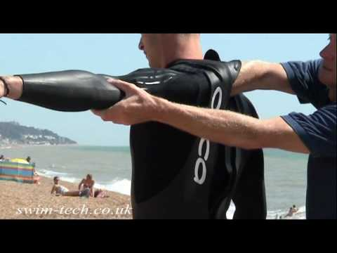 Fitting your wet suit