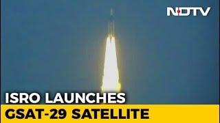 ISRO Launches Communication Satellite, Has 'Geo-Eye' To Monitor India - NDTV