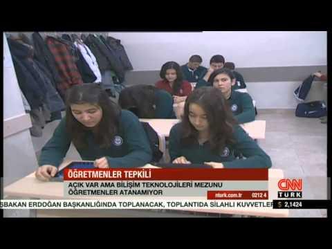 CNN - Bilişim Teknolojileri Öğretmenleri Haberi