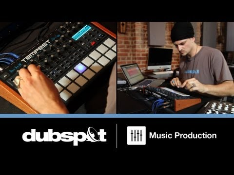 'The Tempest' Analog Drum Machine + Ableton Live - MIDI Sync / Audio Routing Tutorial w/ Kiva