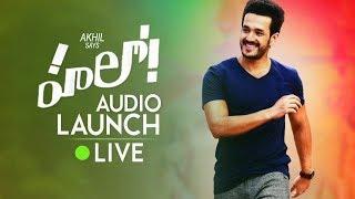 Hello Audio Launch LIVE | Akhil | Kalyani |Jagapathi Babu | Ramya Krishnan | TFPC - TFPC
