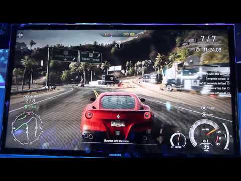 In-game footage of EA's new Need for Speed Rivals game at E3 2013