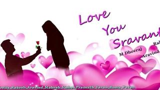 Love You Sravanthi Telugu Short Film || Sai V Roxz || Preity || Directed by Aravind - YOUTUBE