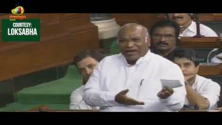 Mallikarjun Kharge On Six Congress MPs Suspension From The House | Lok Sabha | Mango News - MANGONEWS