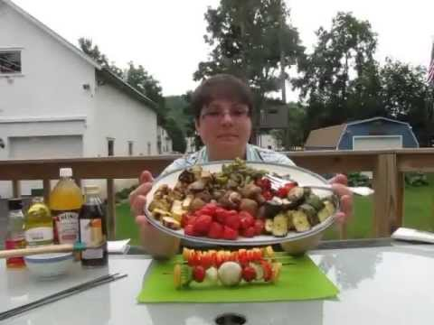 Summertime Grilling  How to Grill Vegetable Kabobs