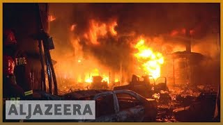 🇧🇩 🔥Huge fire kills scores in old part of Bangladeshi capital Dhaka | Al Jazeera English - ALJAZEERAENGLISH