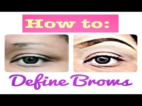 How to: Seductive Eyebrows