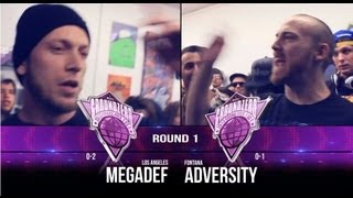 KOTD &#8211; Ground Zero Grand Prix R1 &#8211; Megadef vs Adversity