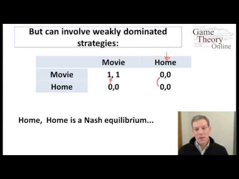 Lecture 2 - 6 -(Game Theory)- Nash Equilibrium - Examples (10-33)