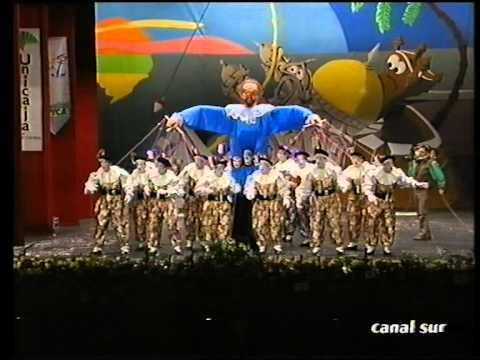 Sesión de Final, la agrupación El tirititero actúa hoy en la modalidad de Comparsas.