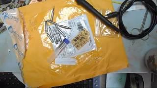 ремонт сотовых/ распаковка посылки и проверка жал.
