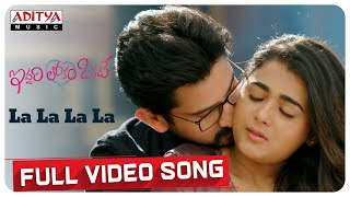 La La La La full video song || Iddari Lokam Okate Songs || Raj Tharun, Shalini || Mickey J Meyer - ADITYAMUSIC