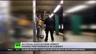 Vague Offense: NYC musician arrested during performance in subway - RUSSIATODAY