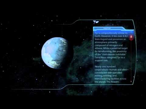 Mass Effect 3 Scanning Guide - Exodus Cluster