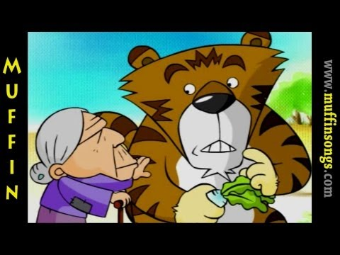 Muffin Stories – The Old Lady that scolded a Tiger Çocuk Masalları, Hikayeler ve İngilizce Fabllar