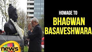PM Modi Pays Homage To Bhagwan Basaveshwara in London | Mango News - MANGONEWS