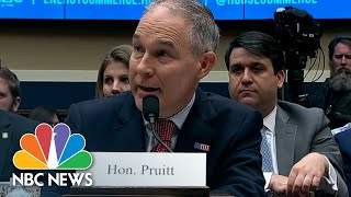Scott Pruitt On Phone Booth Spending: 'I Would Have Refused It' | NBC News - NBCNEWS