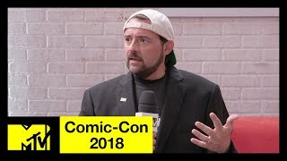 Kevin Smith on His Heart Attack, Avengers 4 & the DC Universe | Comic-Con 2018 | MTV - MTV