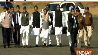 Rahul Gandhi arrives in Bhopal for Kamal Nath's swearing-in ceromony - INDIATV