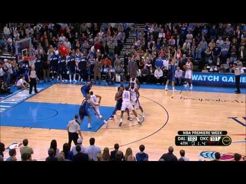 Kevin Durant Buzzer Beater! | Mavericks @ Thunder 12/29/2011