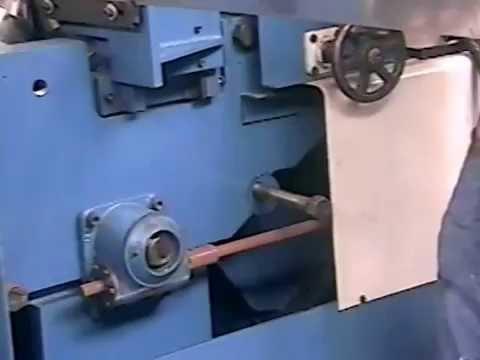 Máquina para gerar Rosca Transportadora