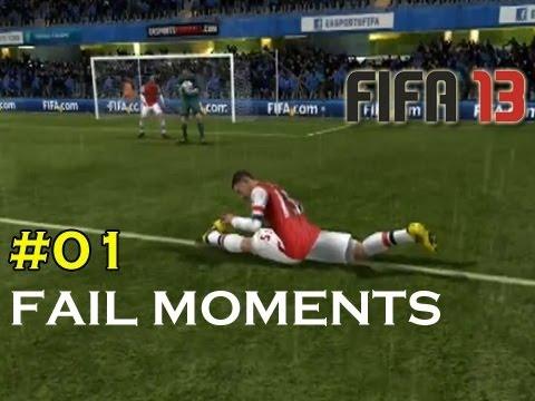 Fifa 13 Fails Moments #01