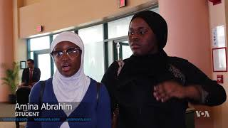 Special Career Law Enforcement Day for NYC Muslim Youth - VOAVIDEO