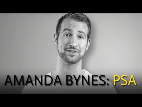 Amanda Bynes PSA: Stop Caring