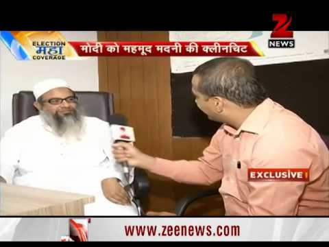No point in Modi apologising for Gujarat riots: Maulana Mehmood Madani