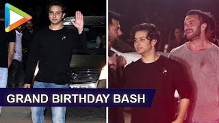 Sohail Khan's son Nirvaan's Grand Birthday Party with Many Celebs | Salman Khan | - HUNGAMA