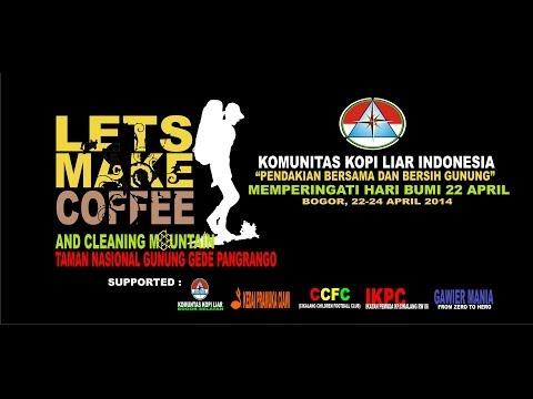 Pendakian bersama Kopi Liar Bogor Selatan Gunung Gede - Pangrango 22-24 2014 (Hari Bumi)