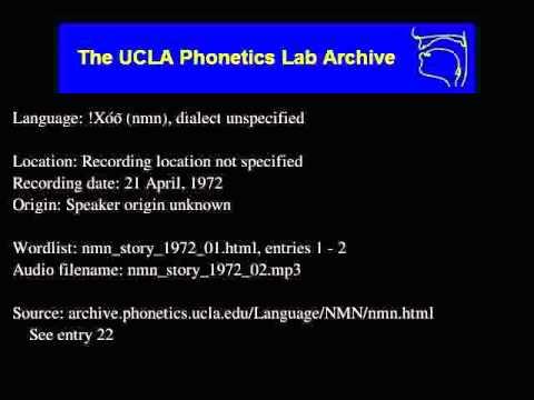 !Xóõ audio: nmn_story_1972_02