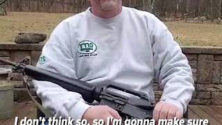 Man destroys the AR-15 rifle he's owned for over 30 years after Florida school shooting | ABC News - ABCNEWS