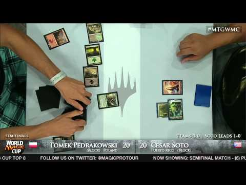 World Magic Cup 2012 Semifinals: Poland vs. Puerto Rico