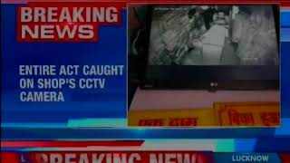 Delhi: Theft reported in garment shop in Mayur Vihar; act caught on shop's CCTV camera - NEWSXLIVE