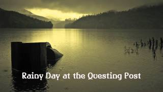 Royalty FreeBackground:Rainy Day at the Questing Post