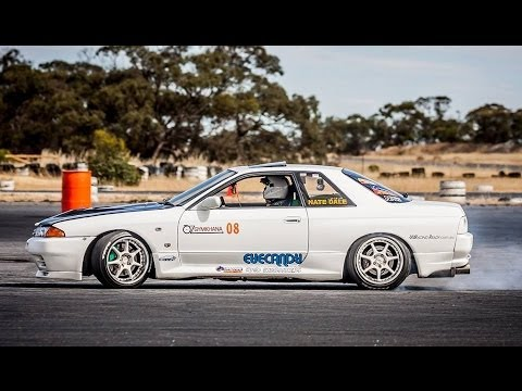 OzGymkhana Round 5 8/12/13 R32 GTST RB25 Neo *HIGHLIGHTS* #8
