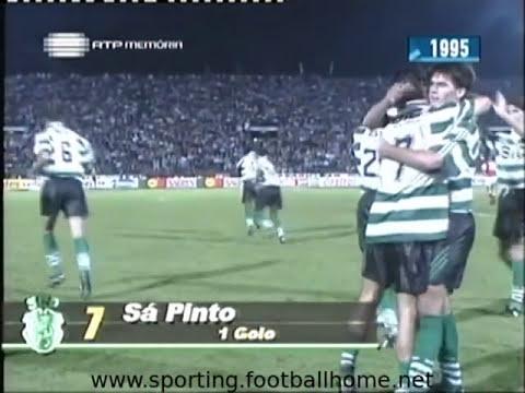 03J :: Braga - 1 x Sporting - 3 de 1995/1996