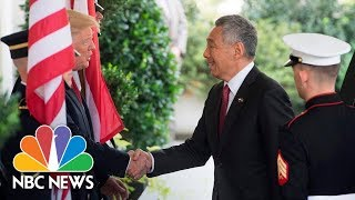Watch Live: Trump, Singapore's Prime Minister Speak From White House - NBCNEWS