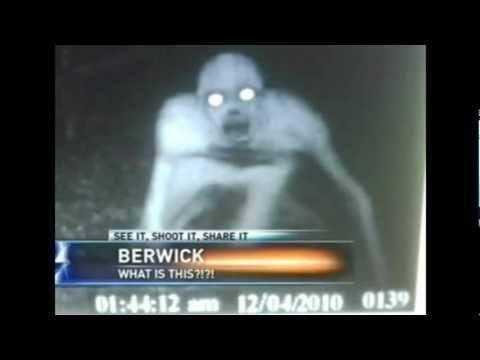REAL HYBRID ALIEN CREATURE ON CAUGHT FILM