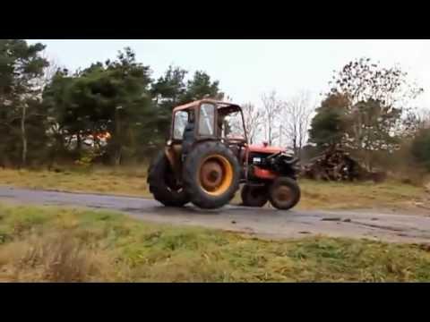 Tractor turbo cu motor de Volvo