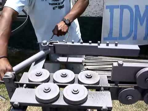Dobra de ferro-Maquina Manual by procaddesenhos.wmv