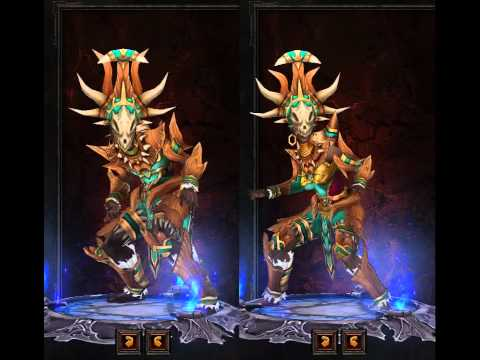 Diablo III Witch Doctor Armor Preview