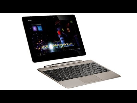 ASUS Eee Pad Transformer Prime running Glowball 2 - Tegra 3 Demo